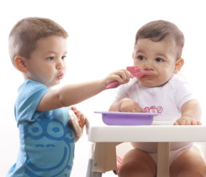Reillyrooz - Oogaa - Purple_pink mealtime set