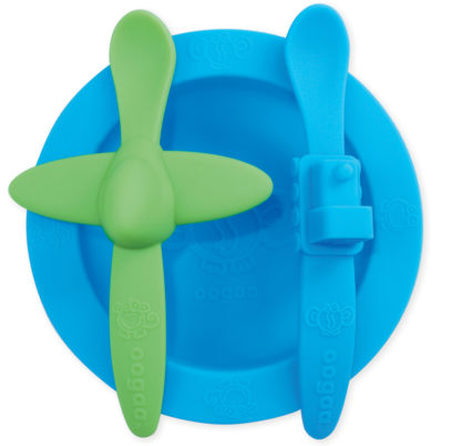 Reillyrooz - Oogaa - blue mealtime set