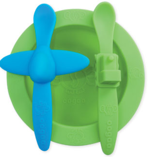 Reillyrooz - Oogaa - green mealtime set