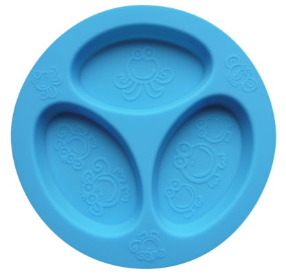 Reillyrooz - Oogaa - Blue divided plate