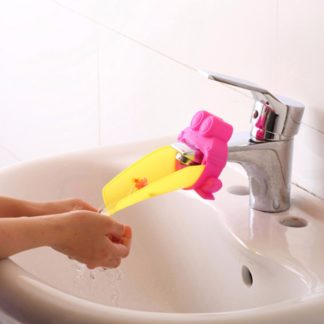 Bathroom Sink Tap Chute Extender Children Kids Washing Hands