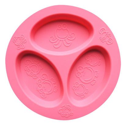 Reillyrooz - Oogaa - divided plate PINK