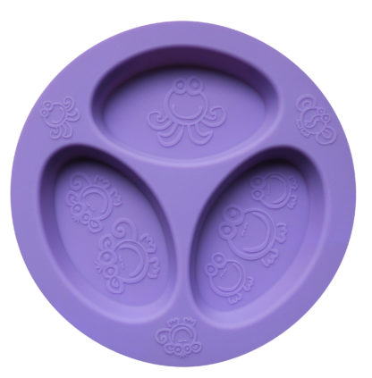 Reillyrooz - Oogaa-Purple divided plate
