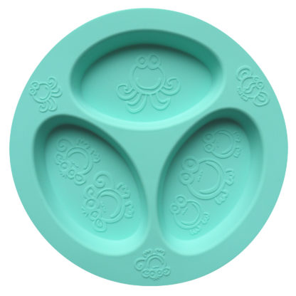 Reillyrooz - Oogaa - jewel blue divided plate